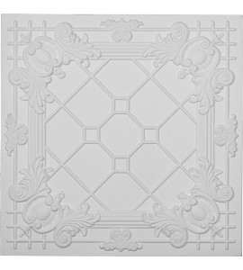 "EM-CT24X24HI - 24""W x 24""H x 3/4""P Hillsborough Ceiling Tile"