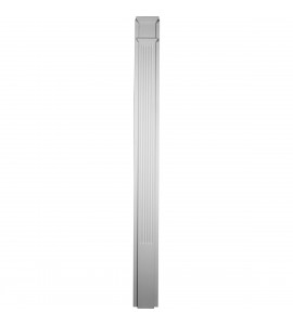"EM-PIL07X90X02FL - 7 7/8""W x 90 1/2""H x 2 1/2""P with 18"" Attached Plinth, Fluted Pilaster (each)"