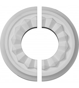 "EM-CM07OL2-03500 - 7 7/8""OD x 3 1/2""ID x 1 1/8""P Olivia Ceiling Medallion, Two Piece (Fits Canopies up to 3 1/2"")"