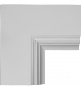 "EM-CC08PIC04X14X14DE - 14""W x 4""P x 14""L Perimeter Inside Corner for 8"" Deluxe Coffered Ceiling System (Kit)"
