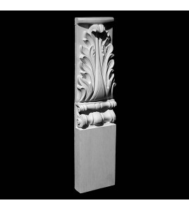 BASE-106T Series Acanthus Leaf Resin Columns Base