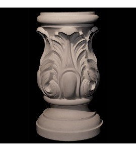 BASE-113 Series Acanthus Leaf Resin Base