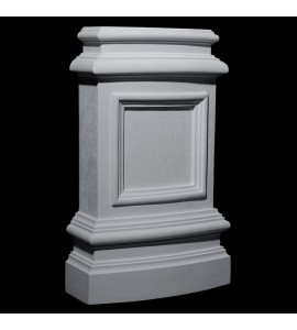 BASE-123 Series Profile Resin Columns Base