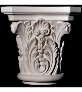 CAP-103-TC Series Acanthus Leaf and Shell Resin Capitol