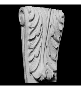 CB-230 Series Acanthus Leaf Dentil Resin Corbel