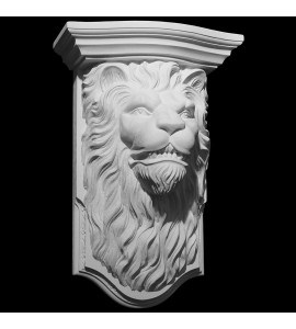 CB-280 Series Lions Head With Profile Top Resin Corbel