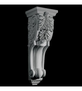 CB-308 Series Oak Leaf and Acorn Acanthus Leaf Resin Corbel