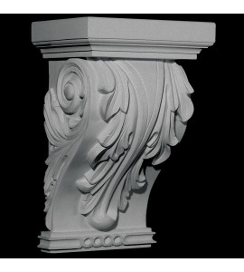 CB-310 Series Acanthus Leaf and Celtic Collar Resin Corbel