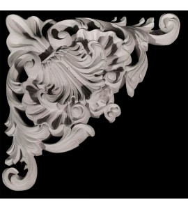 CE-200-OG Series Acanthus Leaf Resin Corner Element