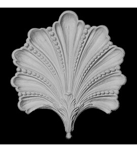 CP-101 Series Shell with Beads and Acanthus Leaf Resin Centerpiece