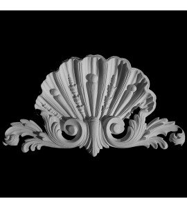 CP-114 Shell Acanthus Leaf Floral Resin Centerpiece