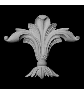 CP-139 Series Acanthus Leaf Resin Centerpiece