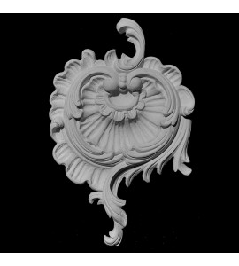 CP-142 Series Acanthus Leaf and Shell Resin Centerpiece
