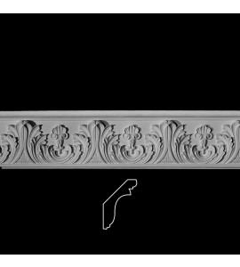 EASY CROWN DESIGN B Acanthus Leaf with Shell Resin Moulding