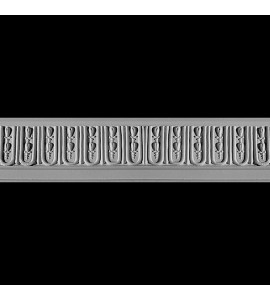 FRZ-107 Fluted and Florets Resin Frieze Moulding