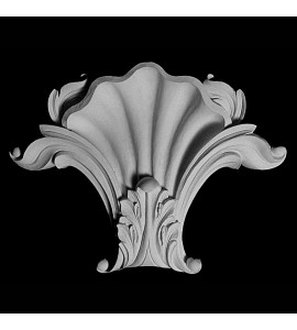 KS-105 Series Shell with Acanthus Leaf Resin Keystone
