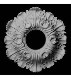 MD-106 Series Acanthus Leaf Resin Medallion