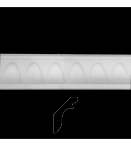 EASY CROWN MLD-155 Series Contemporary Arches Resin Moulding