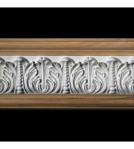 FRZ-404A Acanthus Leaf with Pearls Resin Frieze Moulding