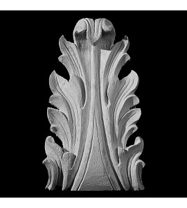 OL-142 Series Acanthus Leaf Resin Onlay