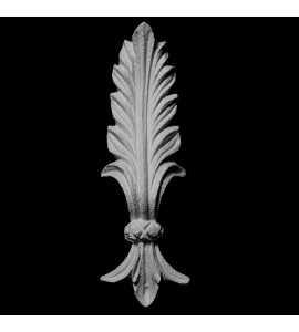 PULL-112 Series Acanthus Leaf Resin Pull