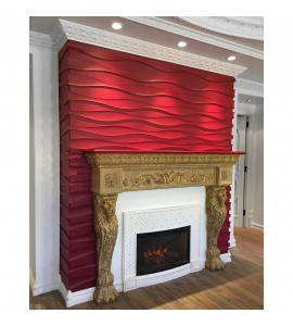 MLD-501 Series Concave 3D Contemporary Flexible Resin Moulding