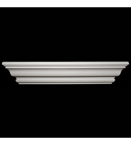 SP-156B Smooth Profile Exterior Resin Crown Moulding