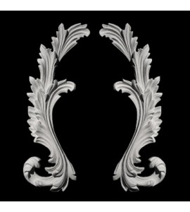 SW-120 Series Acanthus Leaf Resin Swag Pair
