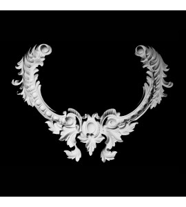 VC-100 Resin Acanthus Leaf and Shield Versailles Ceiling Collection
