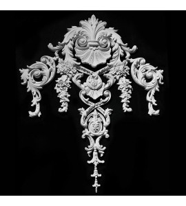 VSC-26 Acanthus Leaf and Shell with Acanthus Leaf Shield and Scroll Drop
