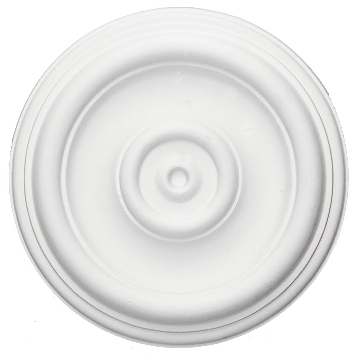 """EM-CM12TR - 12""""OD x 1""""P Traditional Ceiling Medallion (Fits Canopies up to 2 3/4"""")"""