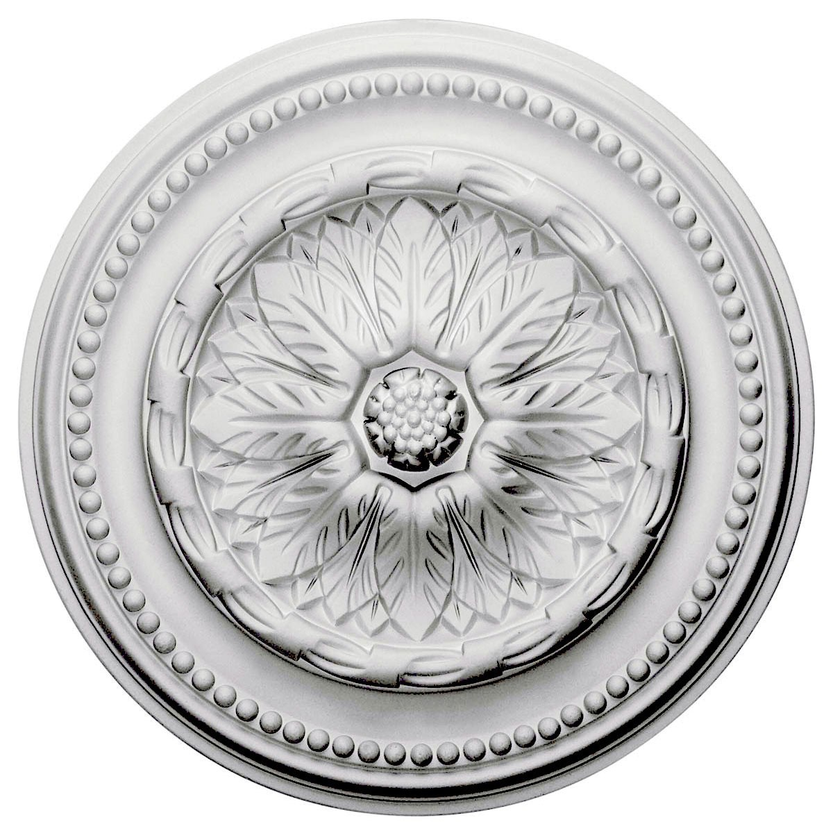 "EM-CM15CH - 15 3/4""OD x 1 7/8""P Chester Ceiling Medallion (Fits Canopies up to 2 1/4"")"