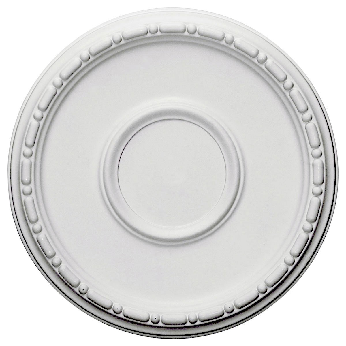 "EM-CM16MD - 16 1/2""OD x 1 1/2""P Medea Ceiling Medallion (Fits Canopies up to 5 1/2"")"