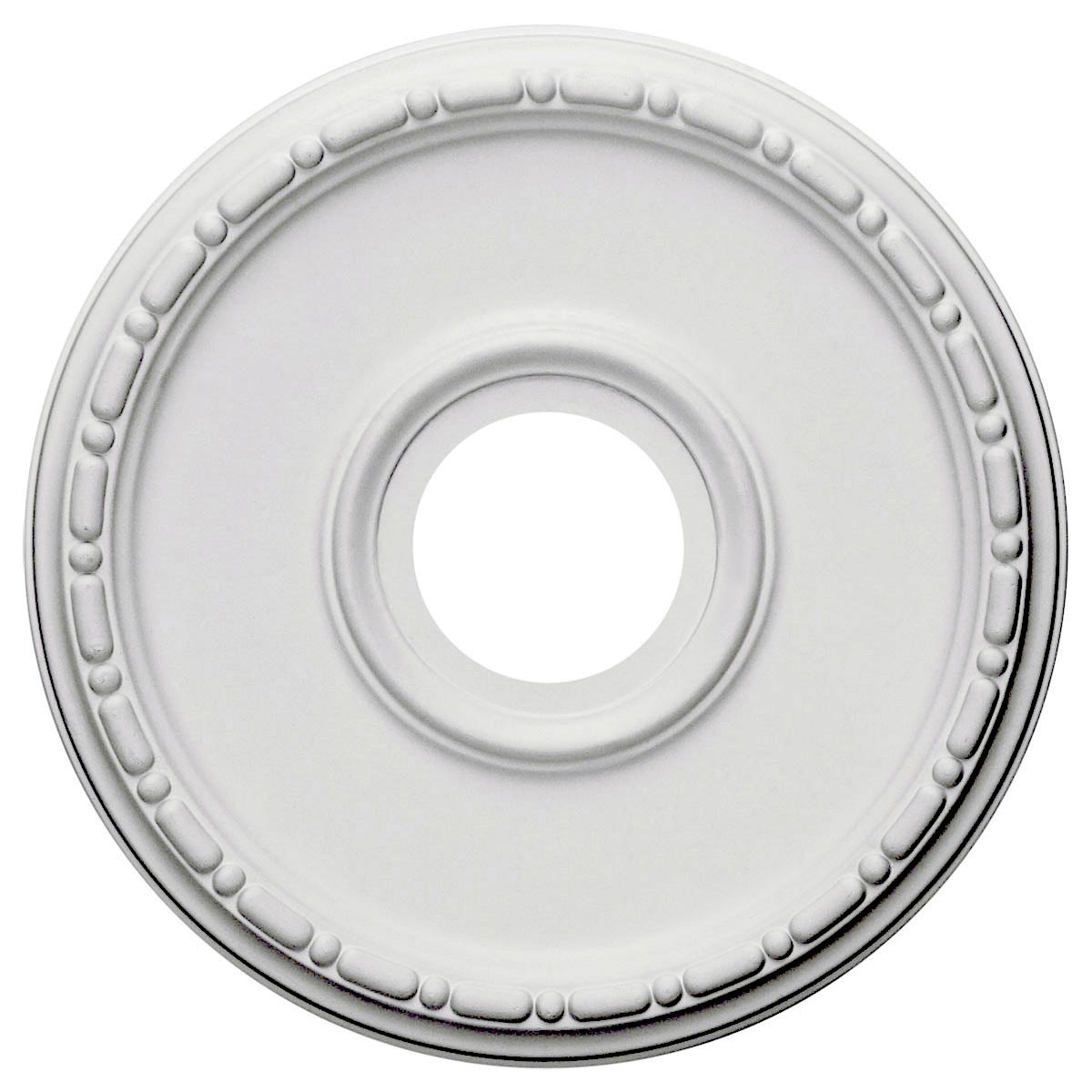 """EM-CM16ME - 16 1/2""""OD x 3 7/8""""ID x 1 1/2""""P Medea Ceiling Medallion (Fits Canopies up to 5 3/8"""")"""