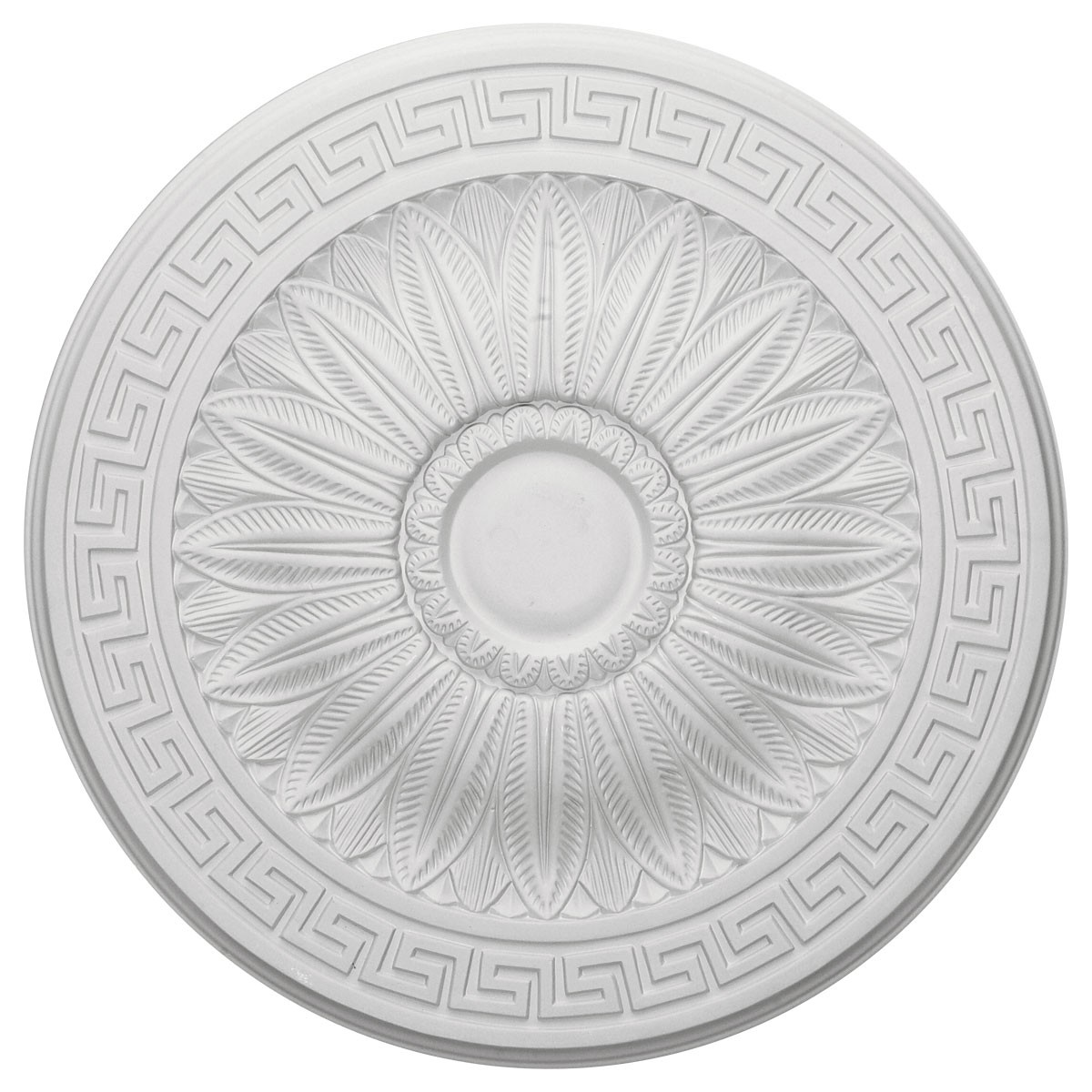 "EM-CM20HA - 20""OD x 1 3/8""P Randee Ceiling Medallion (Fits Canopies up to 3 7/8"")"