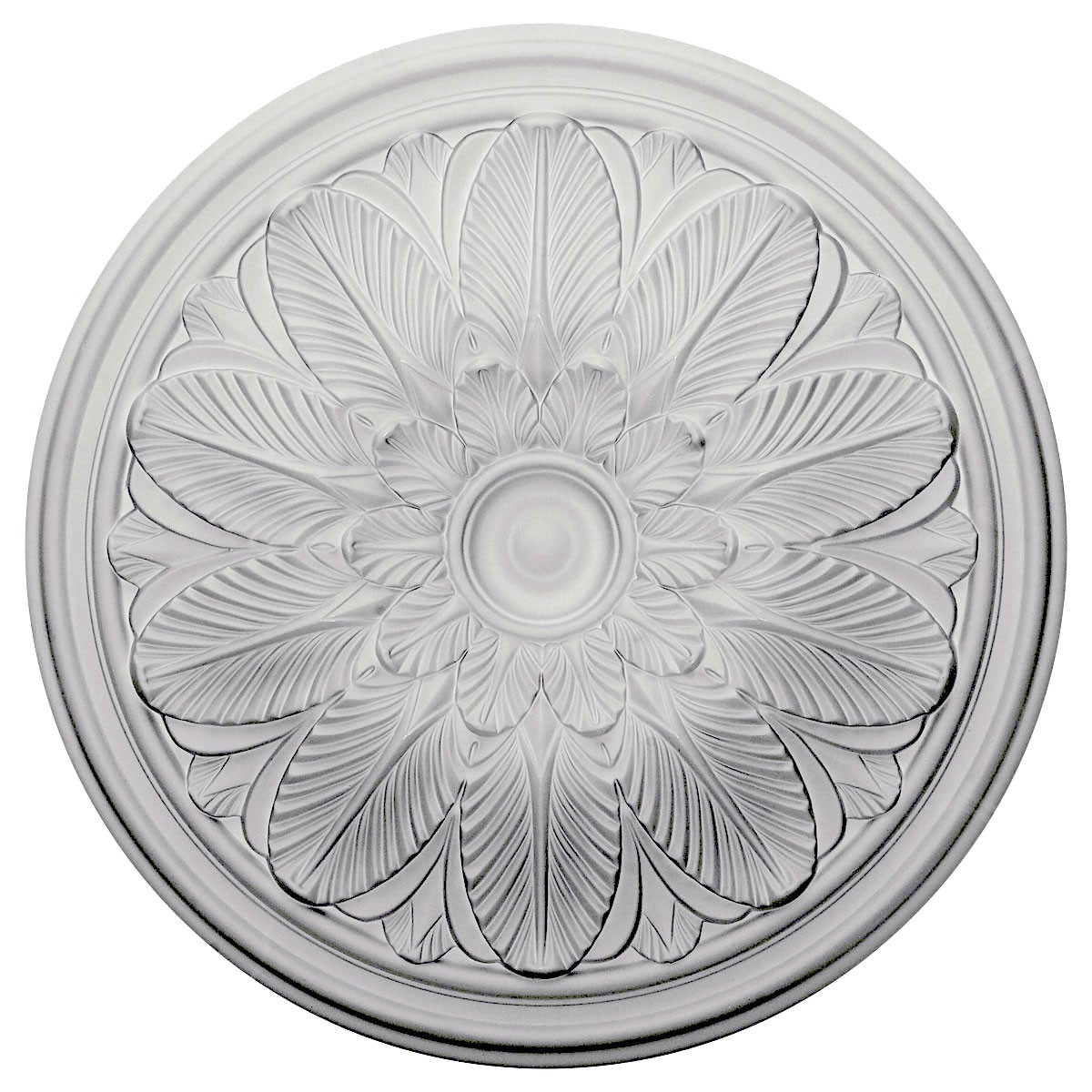 """EM-CM22BO - 22 5/8""""OD x 1 3/4""""P Bordeaux Ceiling Medallion (Fits Canopies up to 3 1/4"""")"""
