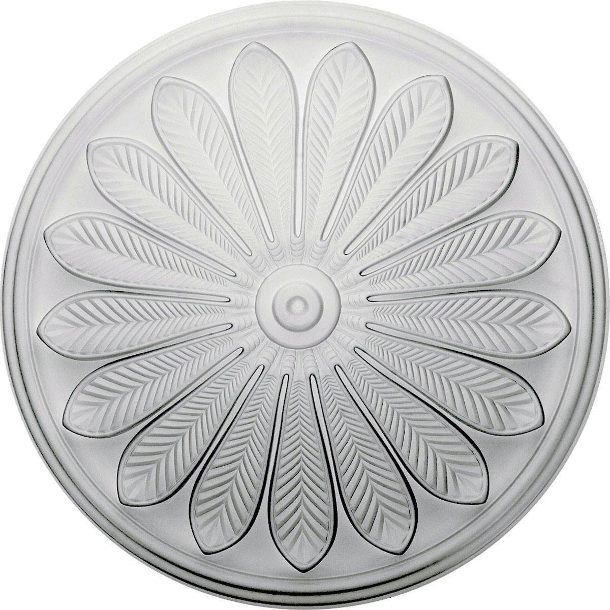 """EM-CM25BR - 25 1/2""""OD x 5 1/2""""P Brontes Ceiling Medallion (Fits Canopies up to 3 5/8"""")"""