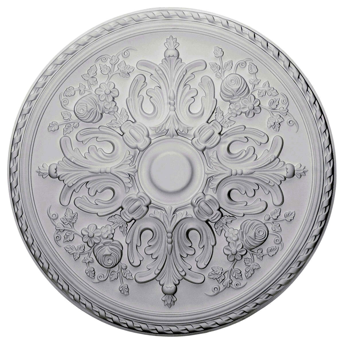 """EM-CM32BR - 32 5/8""""OD x 2""""P Bradford Ceiling Medallion (Fits Canopies up to 6 5/8"""")"""