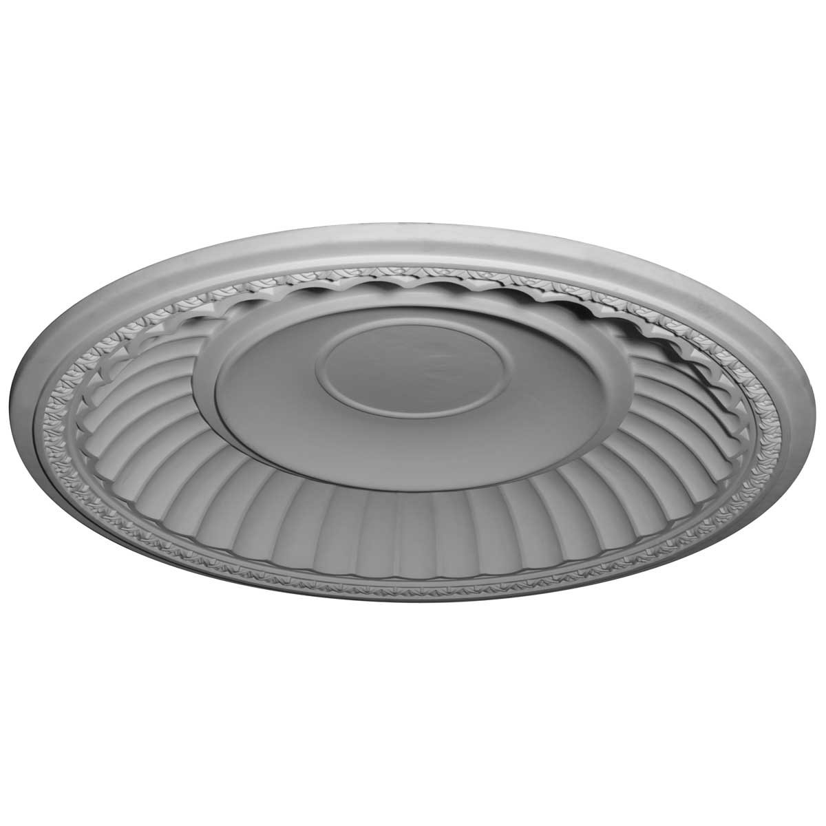 "EM-DOME59DU - 59 1/4""OD x 50 1/8""ID x 8 3/8""D Dublin Recessed Mount Ceiling Dome (51 1/4""Diameter x 9""D Rough Opening)"