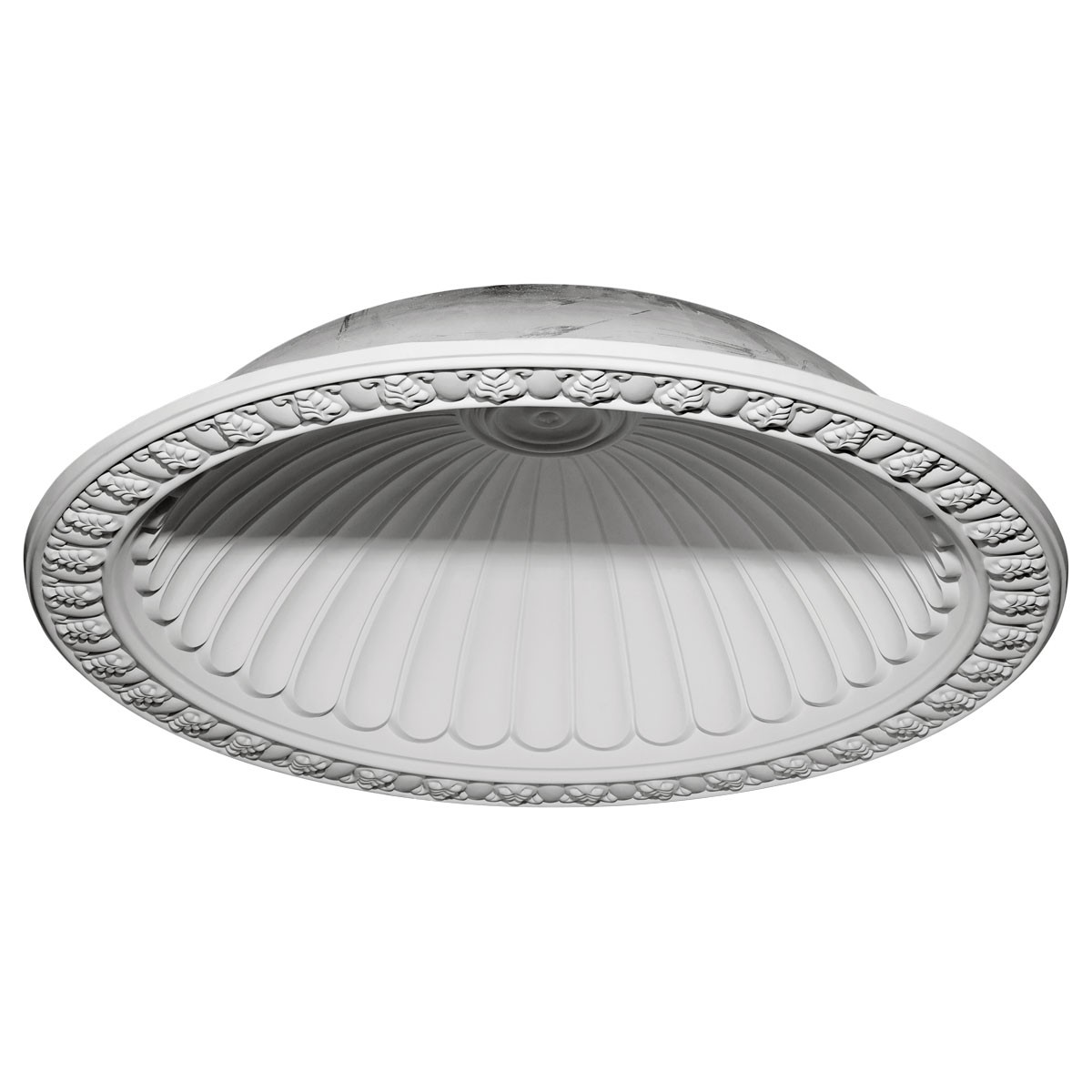 """EM-DOME60CL - 60 3/4""""OD x 50 1/8""""ID x 12 5/8""""D Claremont Recessed Mount Ceiling Dome (53""""Diameter x 14""""D Rough Opening)"""