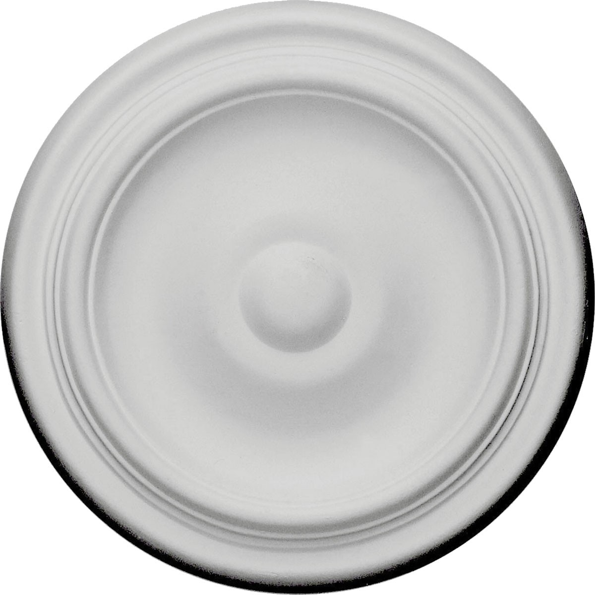 """EM-CM09MA - 9 5/8""""OD x 1 1/8""""P Maria Ceiling Medallion (Fits Canopies up to 1 3/4"""")"""