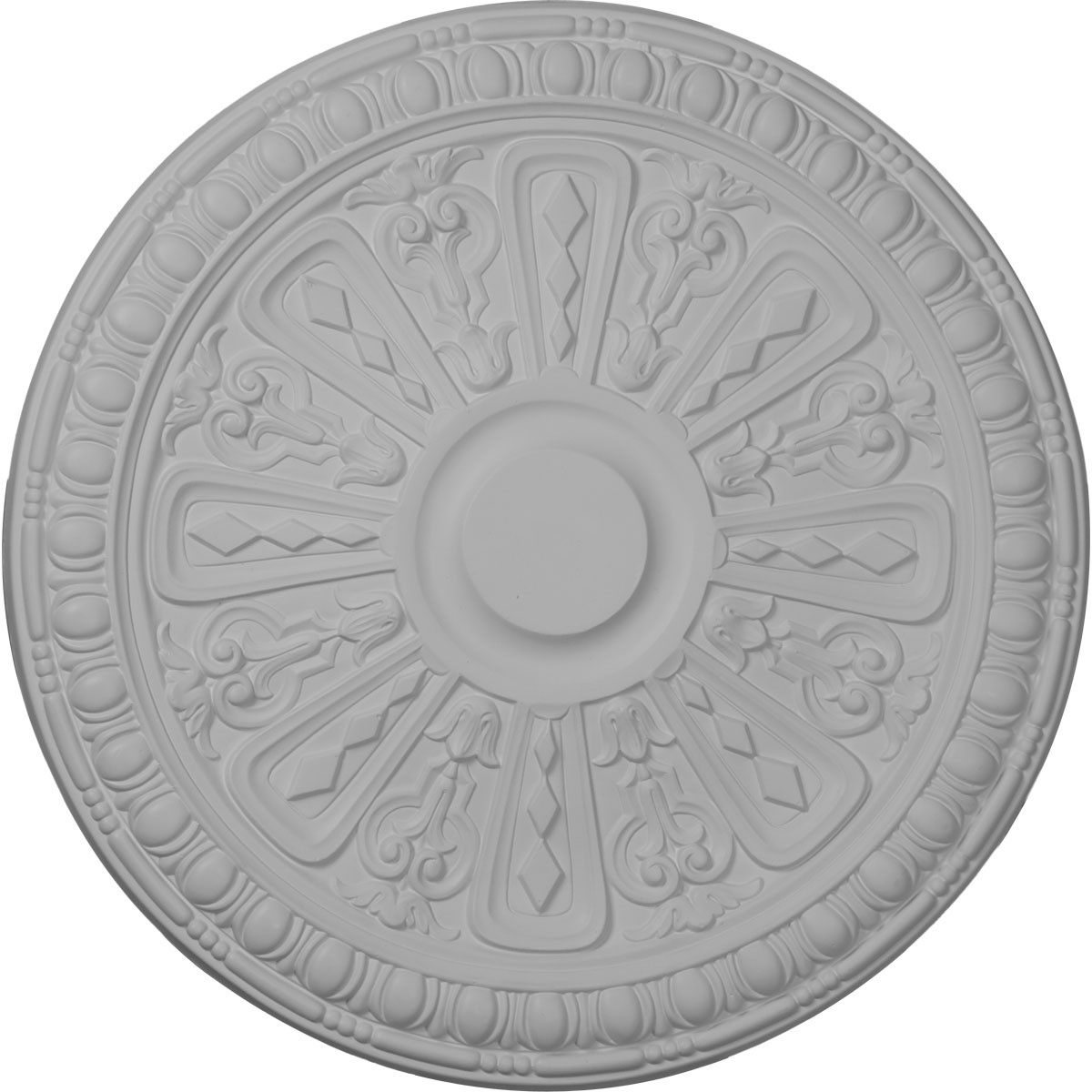 """EM-CM18RA2 - 18""""OD x 1 1/4""""P Raymond Ceiling Medallion (Fits Canopies up to 5 3/8"""")"""