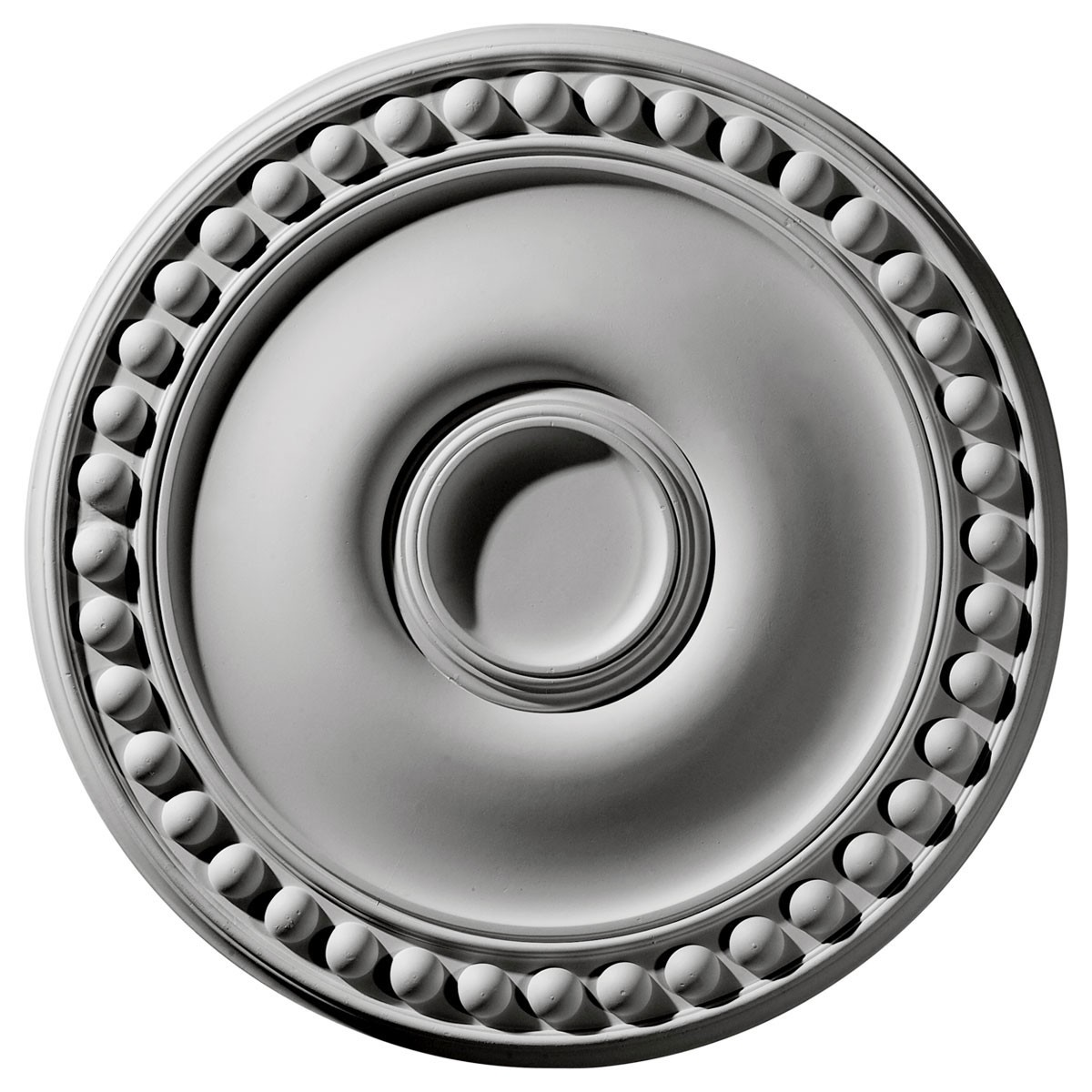 "EM-CM19FO - 19 1/8""OD x 1""P Foster Ceiling Medallion (Fits Canopies up to 5 5/8"")"