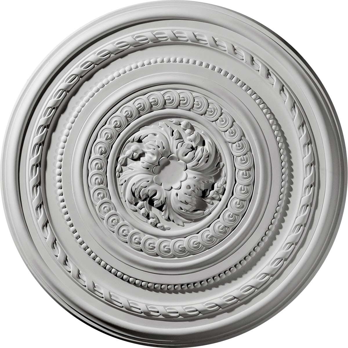 """EM-CM26PE - 26 1/4""""OD x 1 1/2""""P Pearl Ceiling Medallion (Fits Canopies up to 1 7/8"""")"""