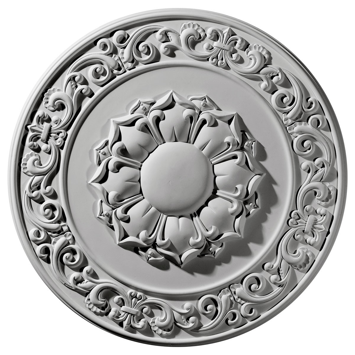 """EM-CM27SY - 27 3/4""""OD x 2""""P Sydney Ceiling Medallion (Fits Canopies up to 5 3/4"""")"""