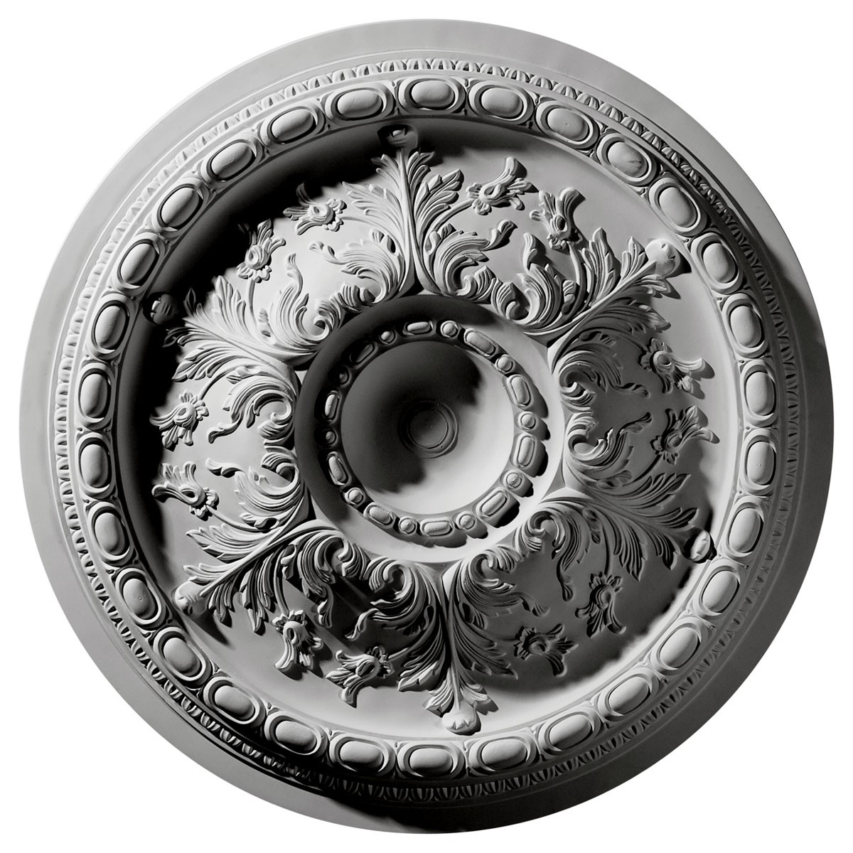 """EM-CM28ST - 28""""OD x 2 3/4""""P Stockport Ceiling Medallion (Fits Canopies up to 6 1/4"""")"""