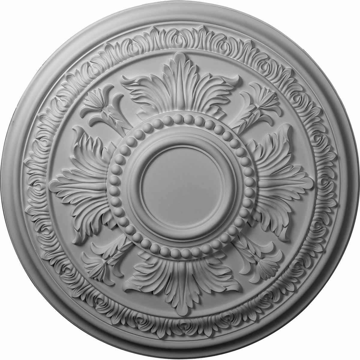 """EM-CM30TE - 30 5/8""""OD x 2 1/2""""P Tellson Ceiling Medallion (Fits Canopies up to 6 3/4"""")"""