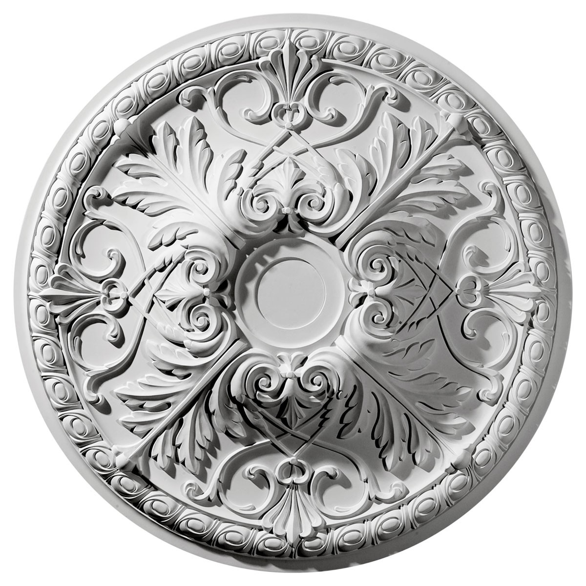 """EM-CM32TN - 32 3/8""""OD x 3 1/2""""P Tristan Ceiling Medallion (Fits Canopies up to 6 1/4"""")"""