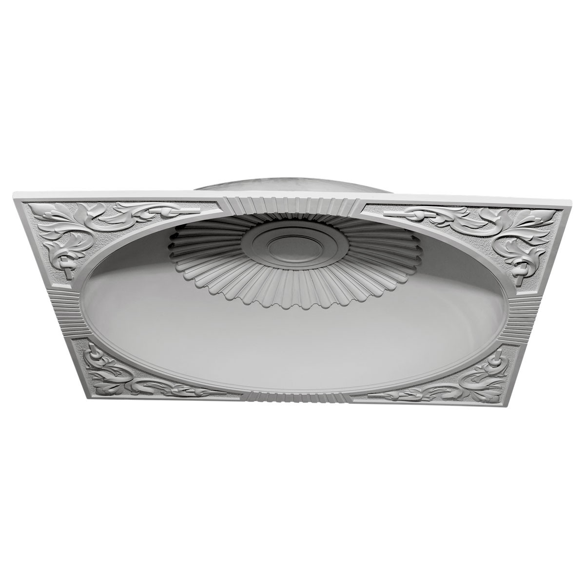 """EM-DOME59SU - 59""""OD x 51 1/8""""ID x 9""""D Sussex Recessed Mount Ceiling Dome (55"""" Diameter x 9 3/4""""D Rough Opening)"""
