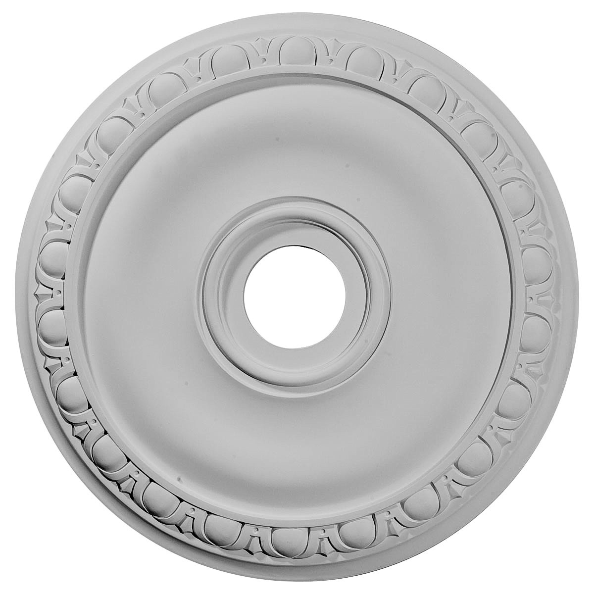 "EM-CM20JA - 20""OD x 3 5/8""ID x 1""P Jackson Ceiling Medallion (Fits Canopies up to 5 1/8"")"